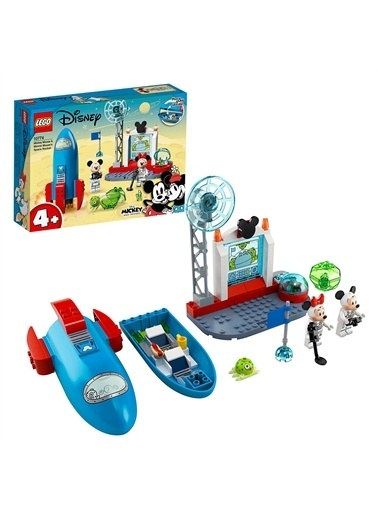 Lego LEGO Disney 10774 Mickey Mouse and Minnie Mouse's Space Renkli